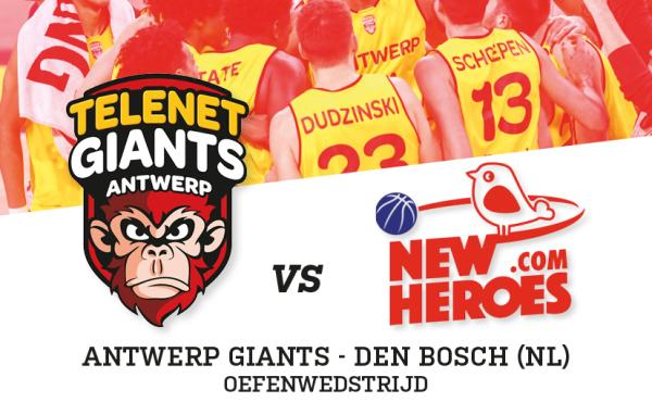 Antwerp Giants - Den Bosch