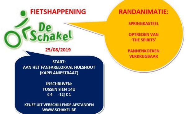 Fietshappening 'De Schakel'