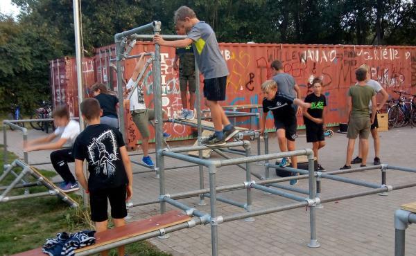 Het Grote Skay zomerkamp (Freerunning, Stunts & Adventure)